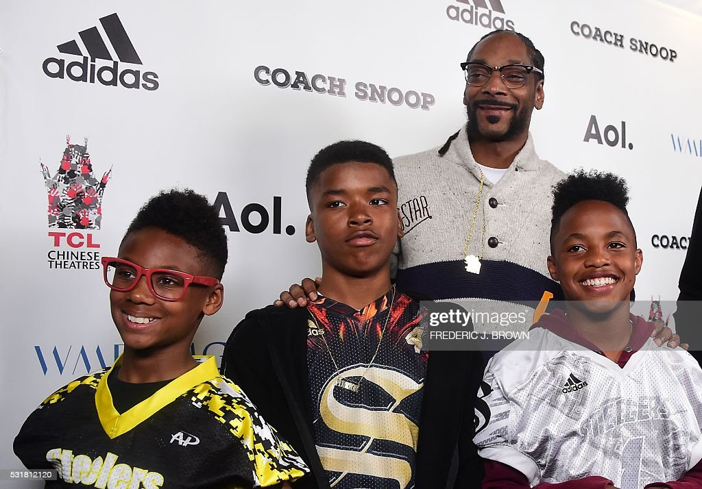 US-ENTERTAINMENT-CINEMA-COACH SNOOP : News Photo