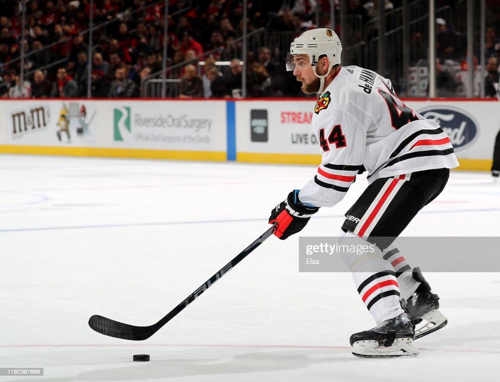 Chicago Blackhawks v New Jersey Devils : News Photo