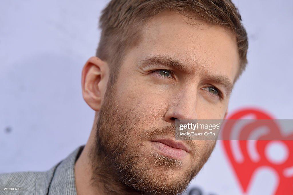 DJ Calvin Harris arrives at iHeartRadio Music Awards on April 3, 2016 in Inglewood, California.
