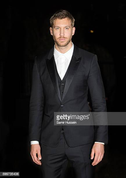 Calvin Harris arrives for GQ Men Of The Year Awards 2016 at Tate Modern on September 6 2016 in London England