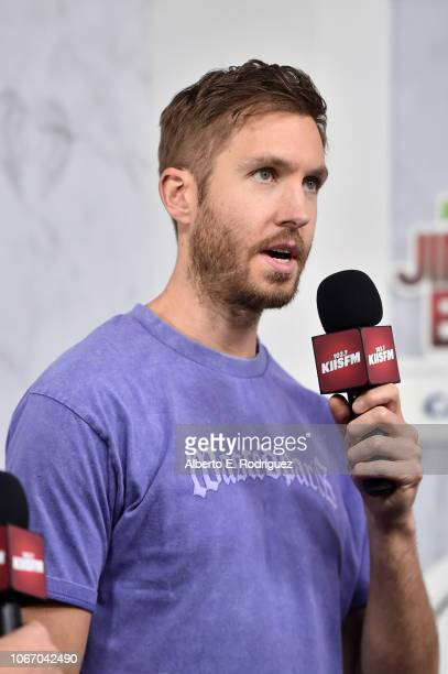 Calvin Harris attends 1027 KIIS FM's Jingle Ball 2018 Presented by Capital One at The Forum on November 30 2018 in Inglewood California