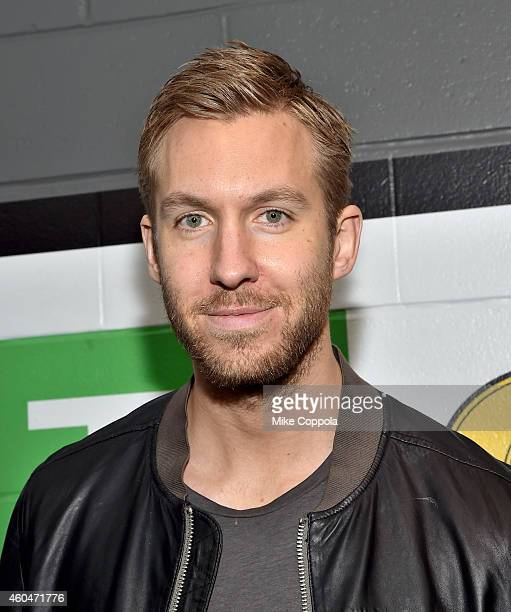 Calvin Harris attends KISS 108's Jingle Ball 2014 presented by Market Basket Supermarkets at TD Garden on December 14 2014 in Boston Massachusetts