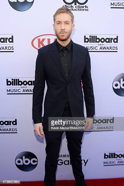 Calvin Harris attends the 2015 Billboard Music Awards at MGM Grand Garden Arena on May 17 2015 in Las Vegas Nevada