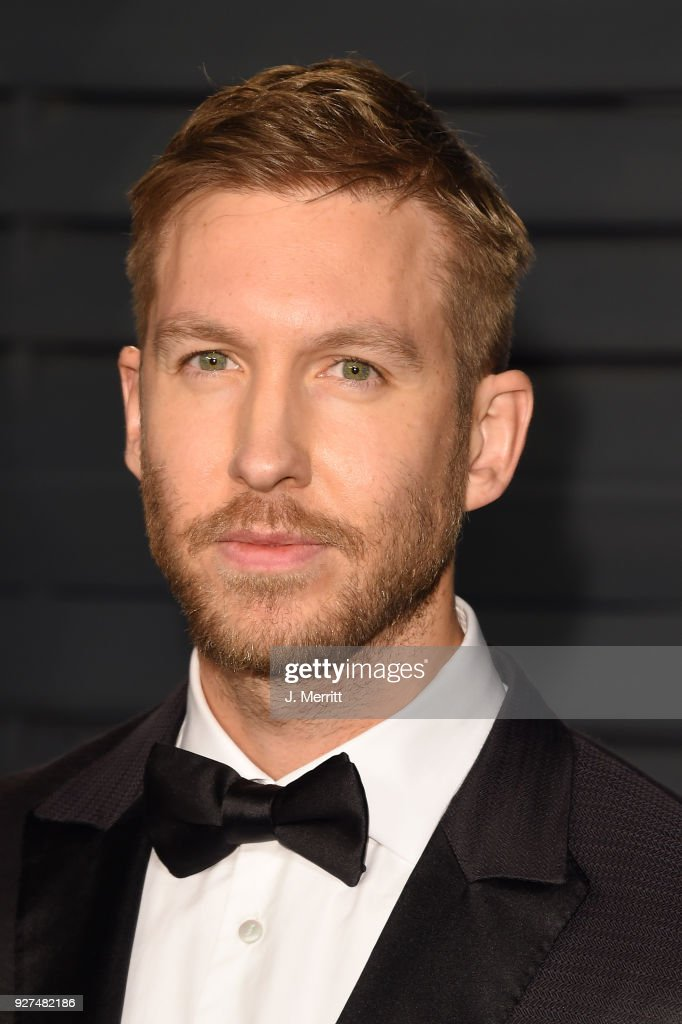 Calvin Harris attends the 2018 Vanity Fair Oscar Party hosted by Radhika Jones at the Wallis Annenberg Center for the Performing Arts on March 4, 2018 in Beverly Hills, California.