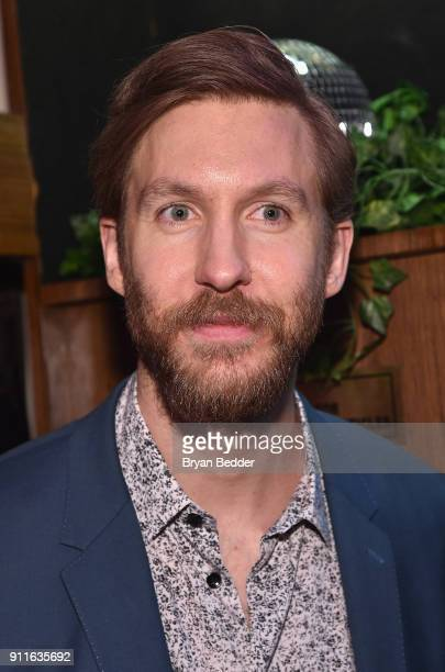 Calvin Harris attends the 60th Annual Grammy Awards after party hosted by Benny Blanco and Diplo with SVEDKA Vodka and Interscope Records on January...