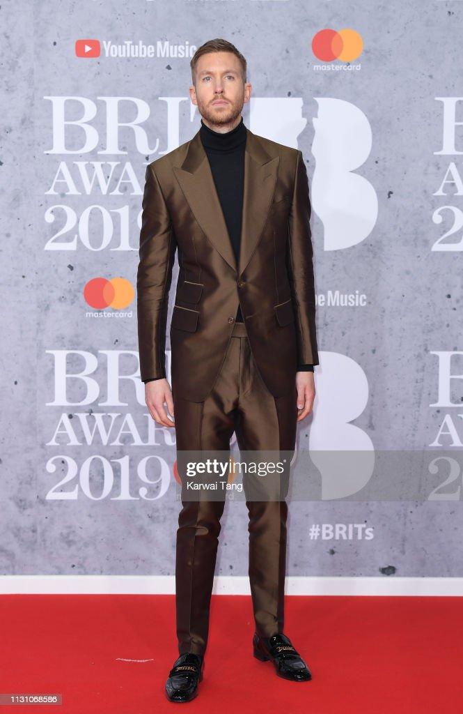 The BRIT Awards 2019 - Red Carpet Arrivals : Foto jornalística