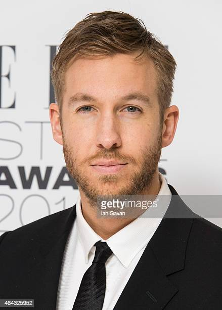 Calvin Harris attends the Elle Style Awards 2015 at Sky Garden @ The Walkie Talkie Tower on February 24 2015 in London England