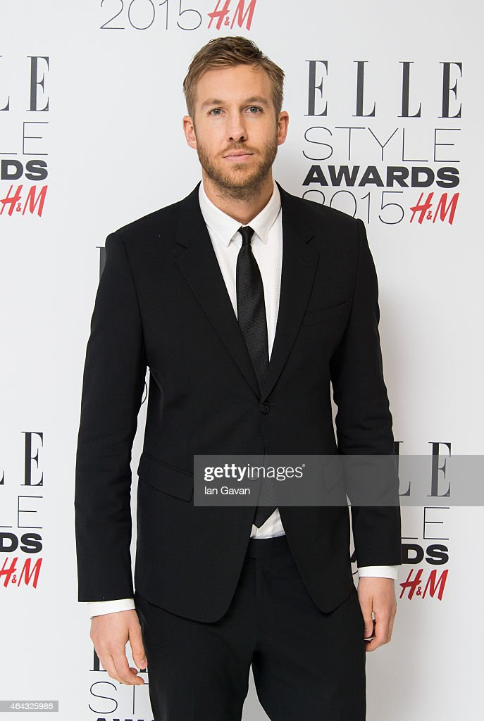 Calvin Harris attends the Elle Style Awards 2015 at Sky Garden @ The Walkie Talkie Tower on February 24, 2015 in London, England.