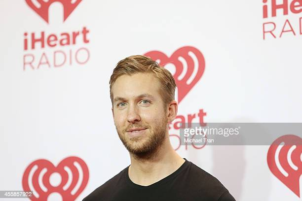 Calvin Harris attends the iHeart Radio Music Festival night 2 press room held at MGM Grand Resort and Casino on September 20 2014 in Las Vegas Nevada