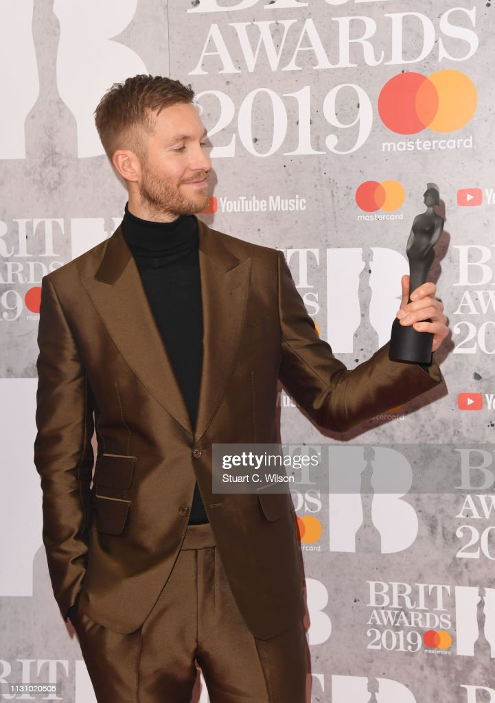 The BRIT Awards 2019 - Winners Room : News Photo