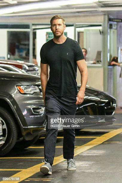 Calvin Harris is seen on June 21 2017 in Los Angeles California