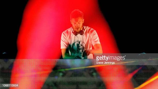 Calvin Harris performs onstage during WiLD 949's FM's Jingle Ball 2018 Presented by Capital One at Bill Graham Civic Auditorium on December 1 2018 in...