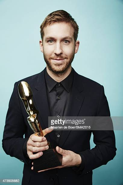 Calvin Harris poses for a portrait at the 2015 Billboard Music Awards on May 17 2015 in Las Vegas Nevada