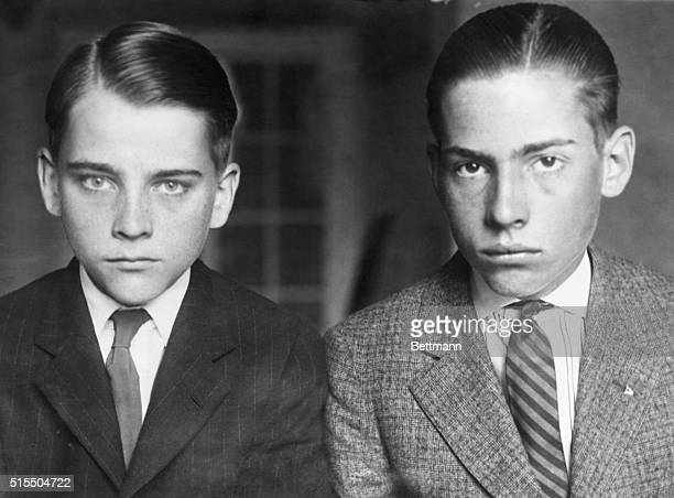 Calvin Jr and John sons of President Calvin Coolidge