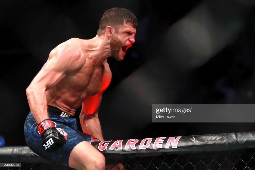 UFC 220: Kattar v Burgos : News Photo