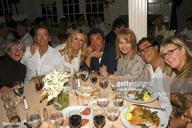 Calvin Klein Alana Stewart Sandy Gallin Claudia Cohen Bob Collacello and Shelly Fremont attend Private screening of Marie Antoinette followed by...