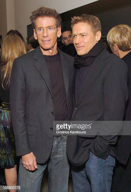 Calvin Klein and Bryan Adams during Calvin Klein and Jeff Koons Host an Evening Benefit ICMEC at Calvin Klein Madison Avenue in New York City United...