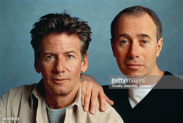 Calvin Klein and David Geffen