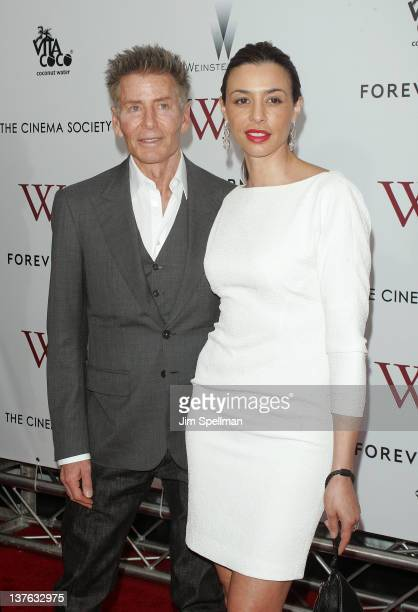 Calvin Klein and Drea De Niro attend The Weinstein Company with The Cinema Society Forevermark premiere of WE at the Ziegfeld Theater on January 23...