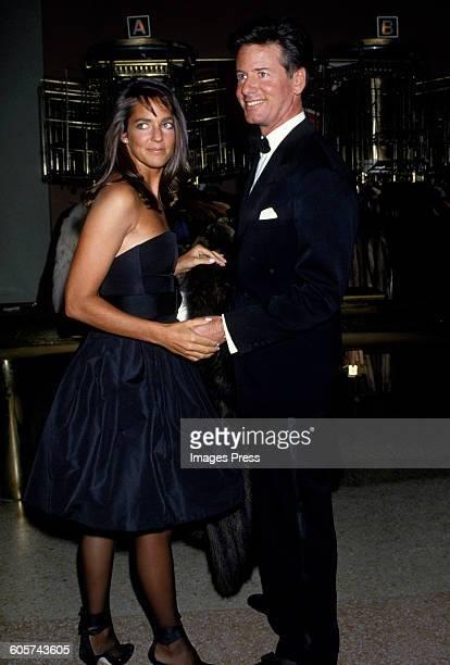 Calvin Klein and Kelly Klein circa 1986 in New York City