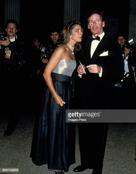 Calvin Klein and Kelly Klein circa 1988 in New York City