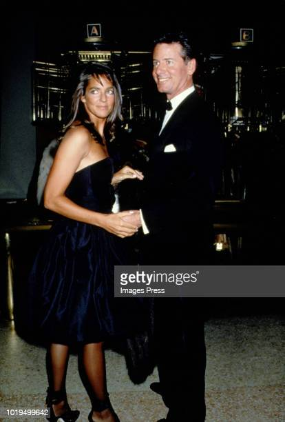 Calvin Klein and Kelly Klein circa 1988 in New York