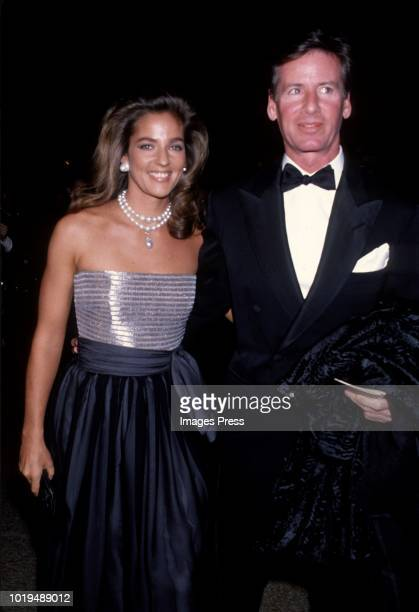 Calvin Klein and Kelly Klein circa 1989 in New York