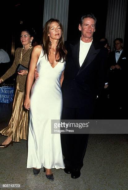 Calvin Klein and Kelly Klein circa 1994 in New York City