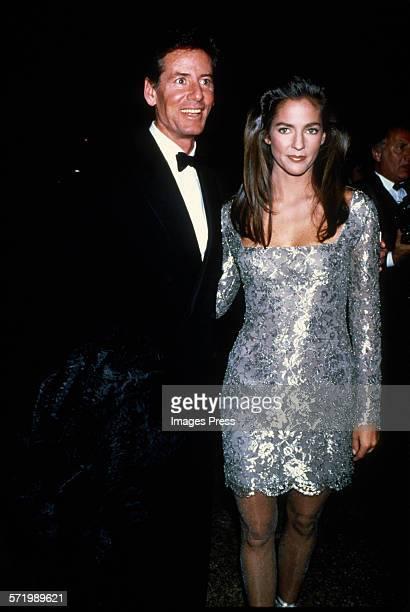Calvin Klein and wife Kelly Klein circa 1988 in New York City