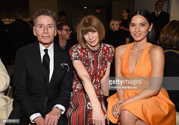 Calvin Klein Anna Wintour and Olivia Munn attend the Valentino Sala Bianca 945 Event on December 10 2014 in New York City