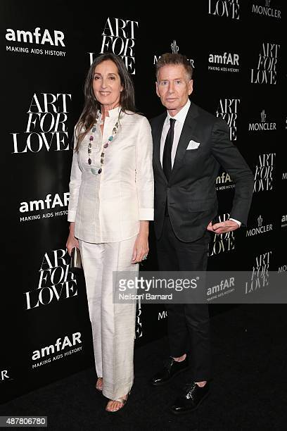 Calvin Klein attends a private viewing and dinner for Art For Love 32 Photographers Interpret The Iconic Moncler Maya Jacket hosted by Remo Ruffini...