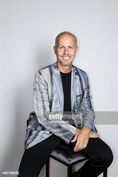 Calvin Klein Collection Mens Creative Director, Italo Zucchelli attends The Daily Front Row's Third Annual Fashion Media Awards at the Park Hyatt New...