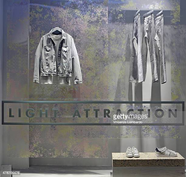 Calvin Klein Jeans Milan Windows Display 2015 as Part of the World Fashion Window  Displays on 173e26a61d