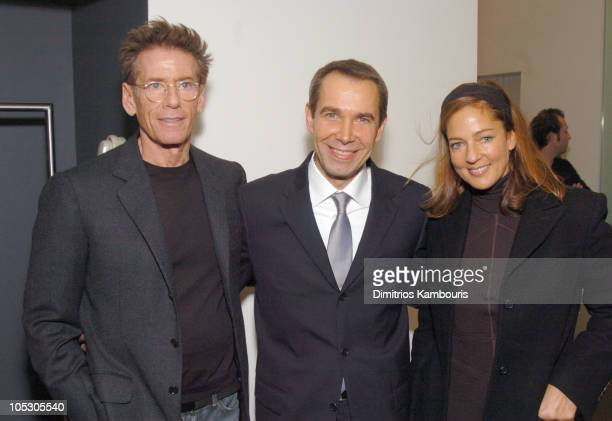 Calvin Klein Jeff Koons and Kelly Klein during Calvin Klein and Jeff Koons Host an Evening Benefit ICMEC at Calvin Klein Madison Avenue in New York...