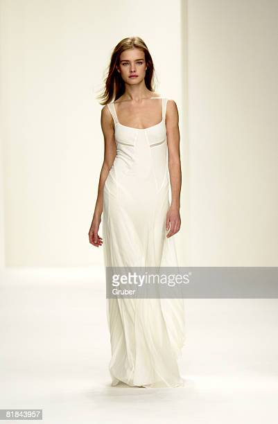 Calvin Klein Womens Spring 2003 Collection Model Natalia Vodianova