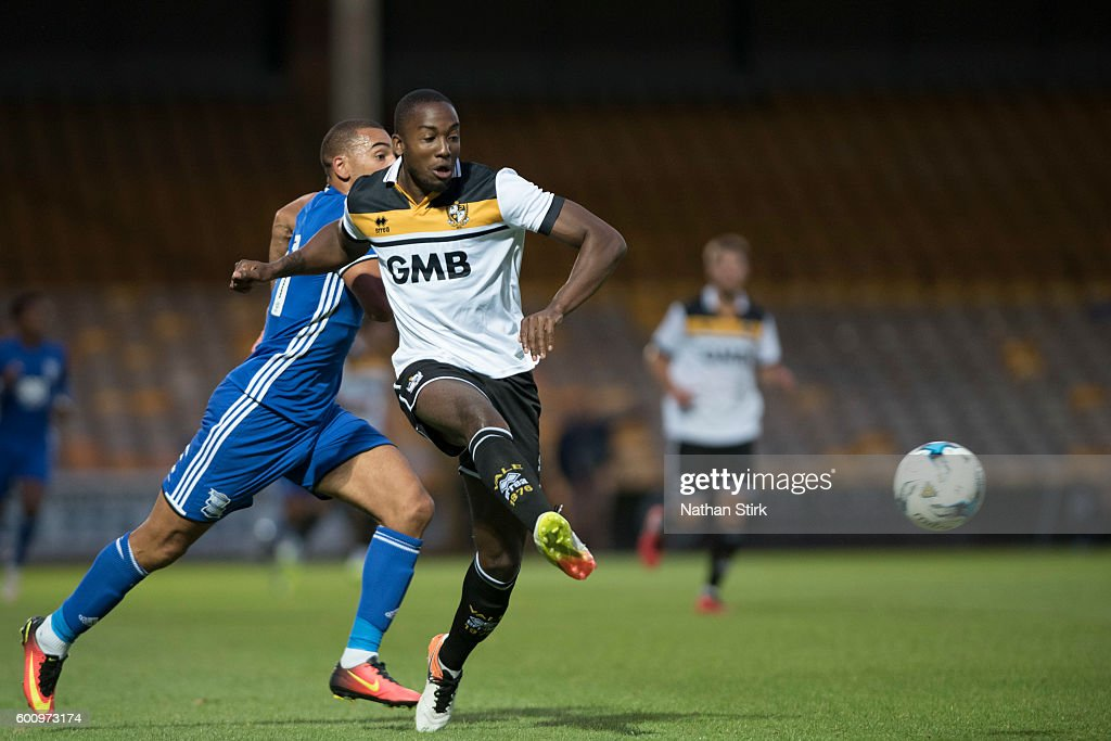 Calvin Macintosch of Port Vale during the Pre-Season Friendly between Port Vale and Birmingham City at Vale Park on July 27, 2016 in Burslem, England.