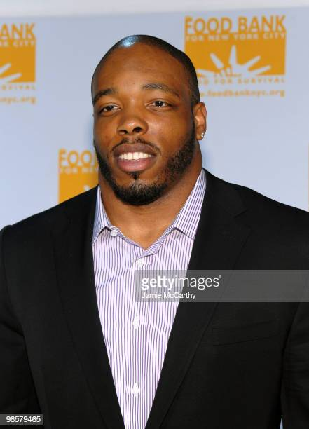 Calvin Pace of the New York Jets attends the Food Bank for New York City's 8th Annual CanDo Awards dinner at Abigail Kirsch�s Pier Sixty at Chelsea...