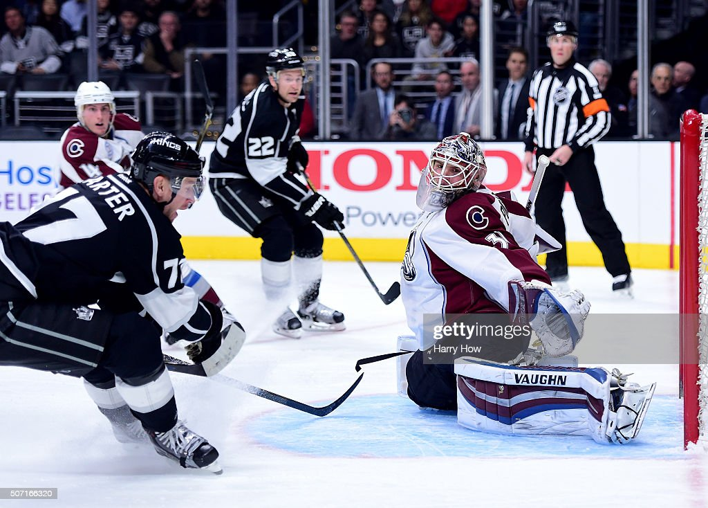 Colorado Avalanche v Los Angeles Kings