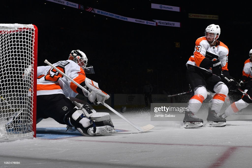 Philadelphia Flyers v Columbus Blue Jackets : News Photo