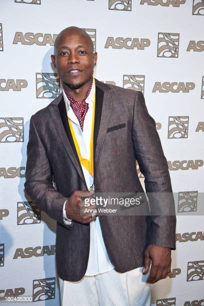 Calvin Richardson attends The 23rd Annual ASCAP Rhythm Soul Music Awards at The Beverly Hilton hotel on June 25 2010 in Beverly Hills California