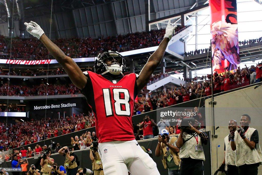 New Orleans Saints v Atlanta Falcons : Fotografia de notícias