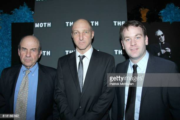 Calvin Trillin Jonathan Ames and Mike Birbiglia attend IT HAPPENED ONE NIGHT MOTH Storytelling Award at the Annual MOTH BALL GALA at Capitale on...