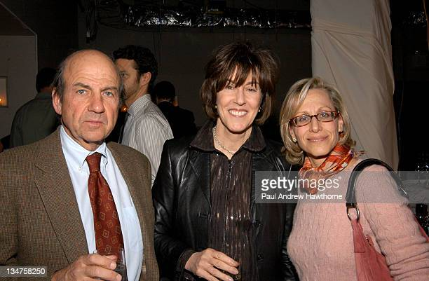 Calvin Trillin, Nora Ephron and Mauri Perl during Gourmet Magazine Celebrates Release of the March 2004 New York Issue with World's Greatest Chefs at...