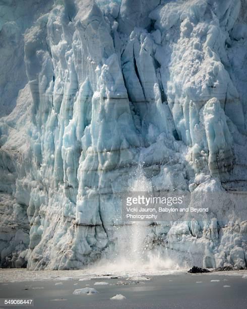 Calving Action at Margerie Glacier, Alaska