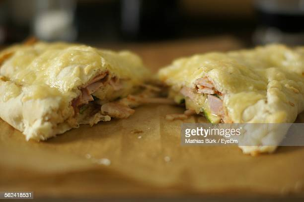 Calzone With Ham And Cheese