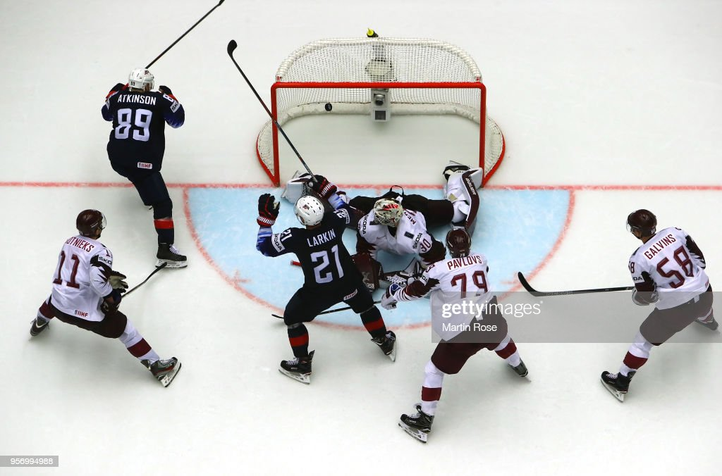 United States v Latvia - 2018 IIHF Ice Hockey World Championship