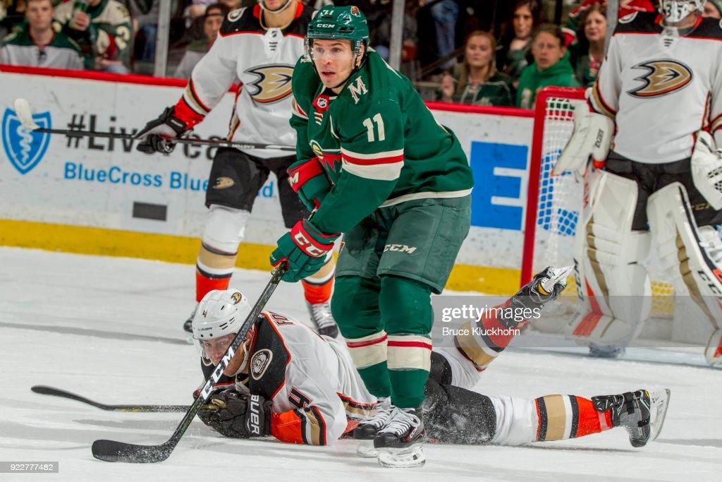 Anaheim Ducks v Minnesota Wild : News Photo