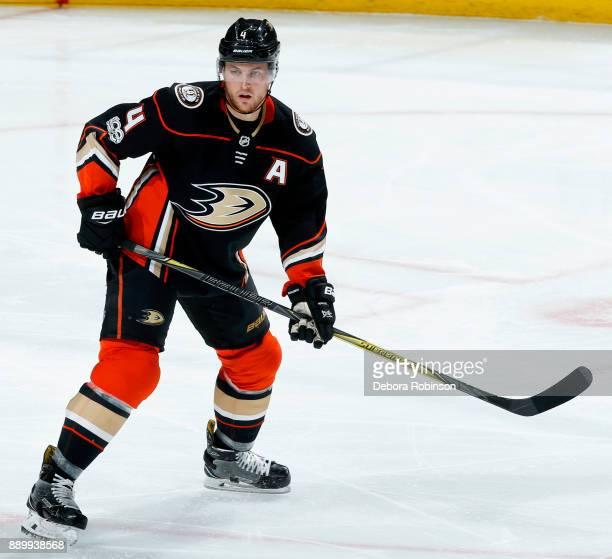 Cam Fowler of the Anaheim Ducks skates during the game against the Ottawa Senators on December 6 2017 at Honda Center in Anaheim California
