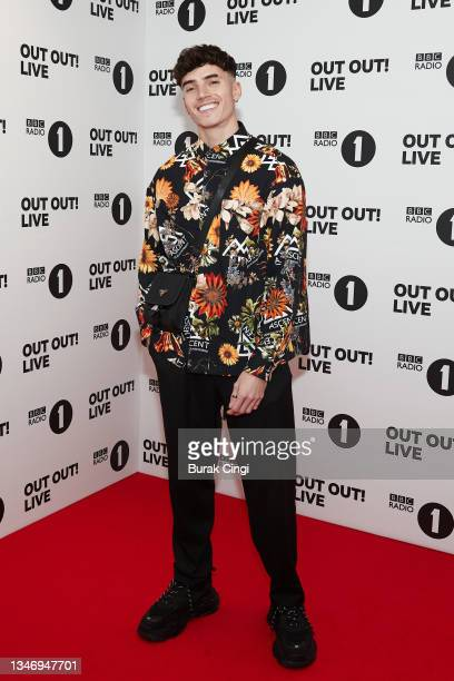 Cam Holmes from Too Hot to Handle attends BBC Radio 1 Out Out! Live 2021 at Wembley Arena on October 16, 2021 in London, England.