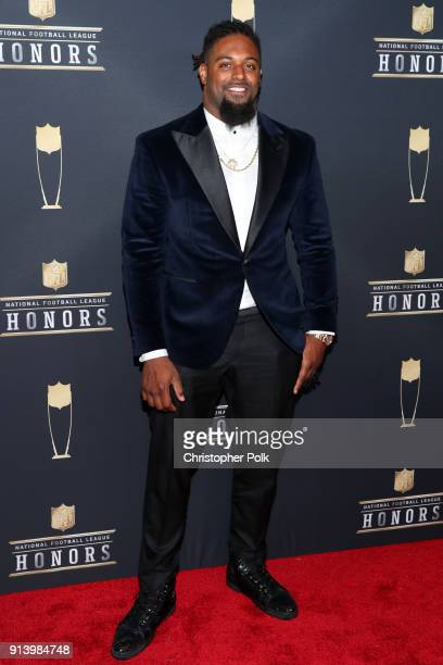 Cam Jordan attends the NFL Honors at University of Minnesota on February 3 2018 in Minneapolis Minnesota
